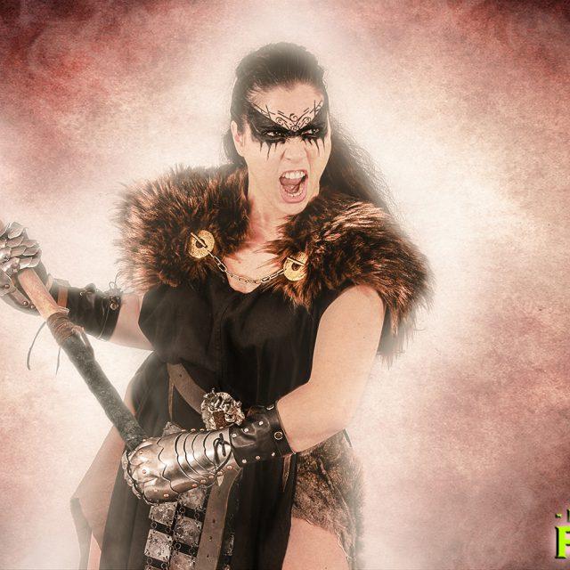 Hammer Wielding Warrior